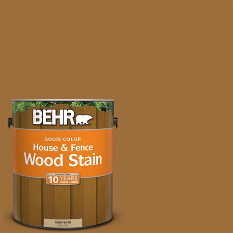 behr 1 gal sc 146 cedar solid color house and fence wood stain 03001 the home depot
