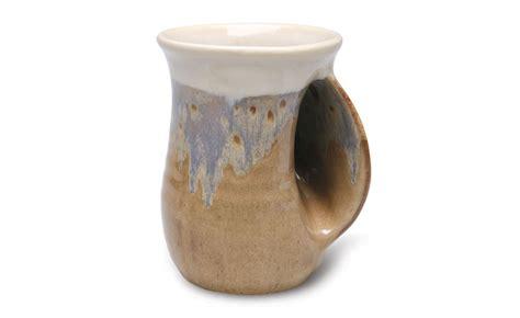 Stoneware Handwarmer Mug   The Green Head