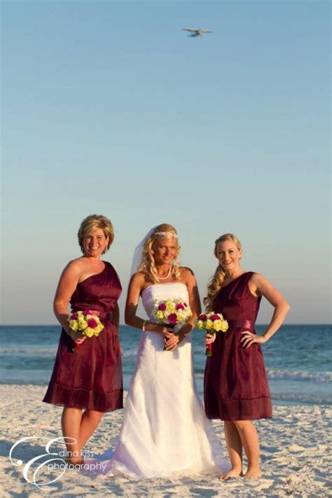 real destin beach wedding heather  bert panama city