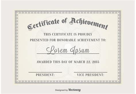 certificate vector template   vector art