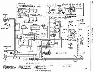 1954 Ford Truck Wiring Diagram