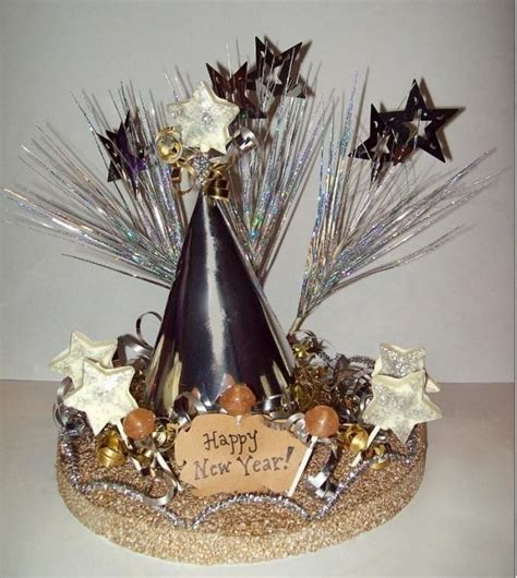New Year?S Craft: Edible Dum Dums Table Centerpiece · How
