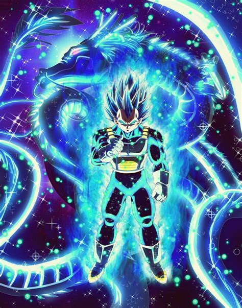 vegeta ssb evolution anime dragon ball super dragon
