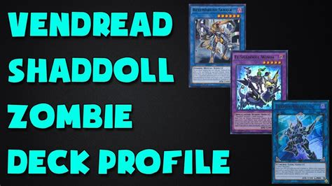 Zoolock Deck August 2017 by Deck Vendread Shaddoll Deck Profile