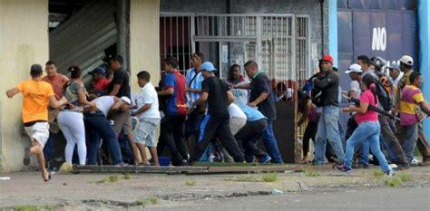 looting sweeps venezuela  hunger takes