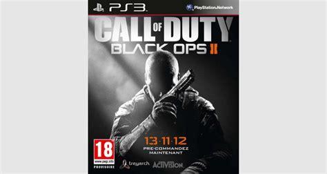 micromania siege social call of duty black ops ii sur ps3 tous les jeux vidéo