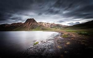 iceland, nature, landscape, kylingavatn, in, the, near, of, landmannalaugar, desktop, hd, wallpaper, for, pc