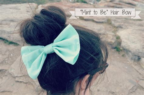 big bow pictures big mint hair bow