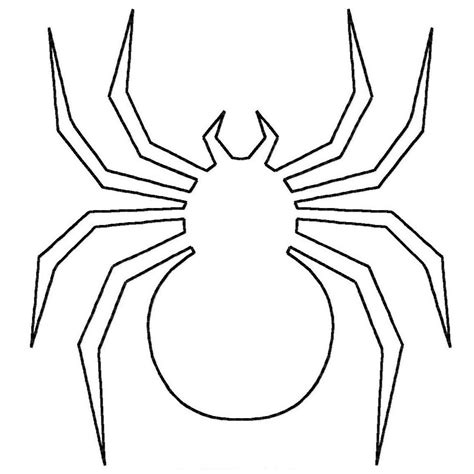 Spider Coloring Pages Getcoloringpagescom