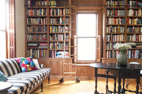 The Builtin Library Shelves, With Books  Making It Lovely