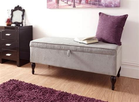 Large Cushioned Ottoman by Cushioned Ottoman Fabric Storage Box Large Blanket