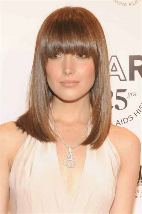 2018 s most popular straight hairstyles with bangs