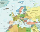 Map of Europe - Political