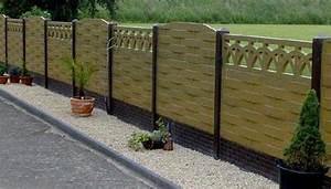 Plaque De Beton Pour Cloture Pas Cher : cloture dalle beton jardin orl ans ~ Dode.kayakingforconservation.com Idées de Décoration