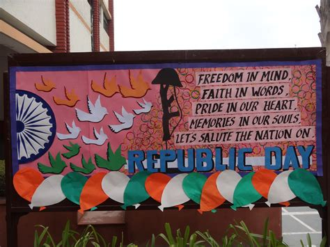 republic day board bulletin boards republic day