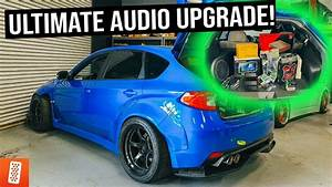 Throtl Media And Content Ultimate Subaru Wrx Sti Audio Upgrade    600hp Bmw E36 M3 Lambo Killer
