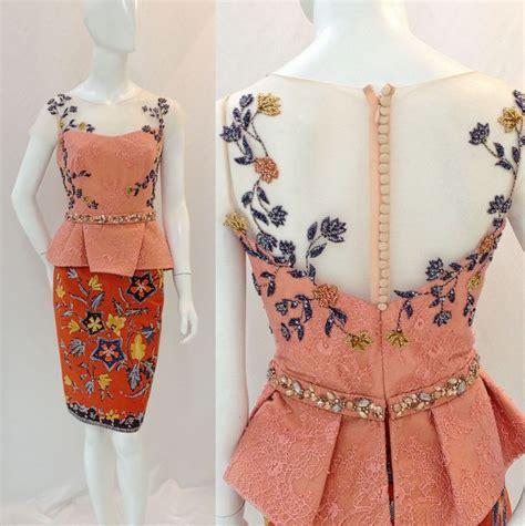 kebaya batik modern lowo 22 best fashion style images on kebaya