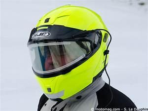 Casque Protection Electrique : casque moto 2 crans d givrage lectrique l 39 essai ~ Edinachiropracticcenter.com Idées de Décoration