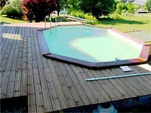 Piscine Semi Enterrée Composite : piscine en bois s rie sp ciale sw 4b 36x56 ~ Dailycaller-alerts.com Idées de Décoration