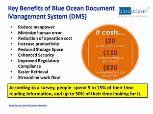 Key benefits of blue ocean document management system dms for Benefits of document management system