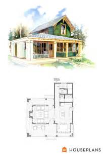 cottage floor plan small 1 bedroom cottage floor plans and elevation by brchvogel and carosso houseplans