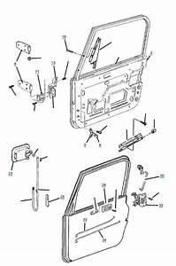 Tj Wrangler Full Steel Door Parts