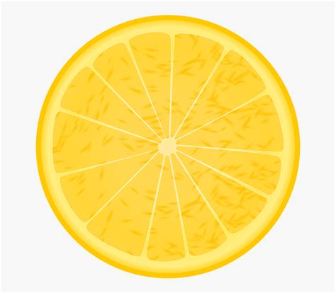 lemon slice transparent background transparent cartoon