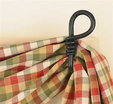 fishtail swag curtain hook loop curtains