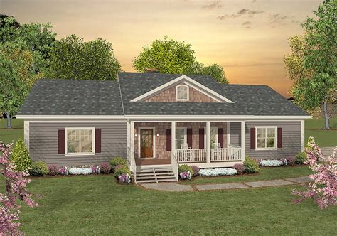 versatile ranch  large bonus room ga architectural designs house plans