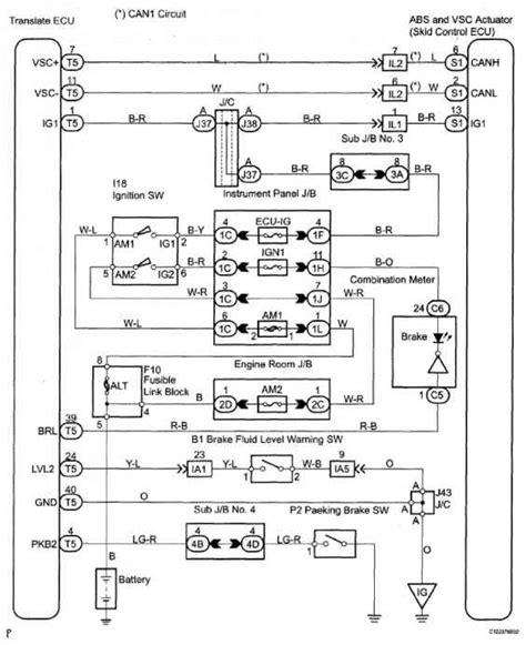 ecu wiring diagram toyota 25 wiring diagram images