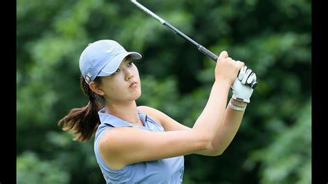 beautiful female golfers    womens open
