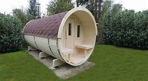 Sauna Für Garten : gartensauna wolff saunafass 400 sauna haus aussensauna fasssauna aus holz vom gartenhaus ~ Markanthonyermac.com Haus und Dekorationen