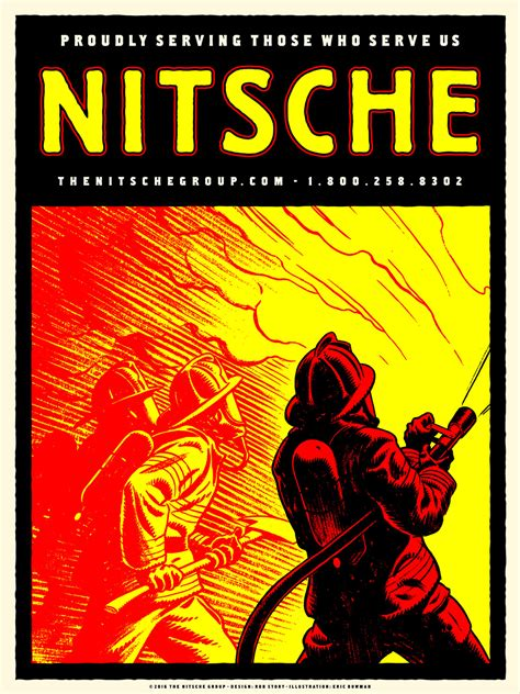 Firefighter Commemorative Posters - Graphis