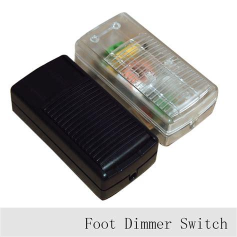 1pc 220v L Foot Dimmer Switch Floor Light Table L