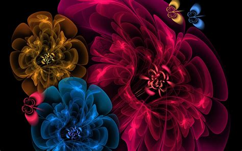 Flowers Images Hd 3d Wallpapers by 3d Fractal Flowers Favourite Fractal
