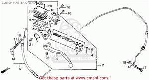 Honda Cb650sc Nighthawk 1983  D  Usa Clutch Master