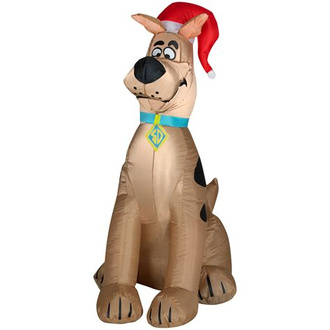 scooby doo inflatable christmas decoration scooby style