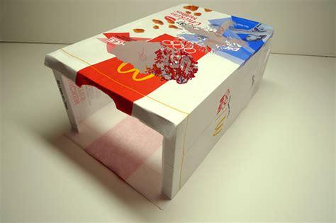 intricate tree carved  mcdonalds paper bag bored panda