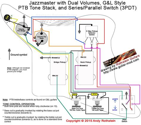 62 Jazz Bas Wiring Diagram by Jazzmaster Wiring Series Parallel Switching Bass Mods