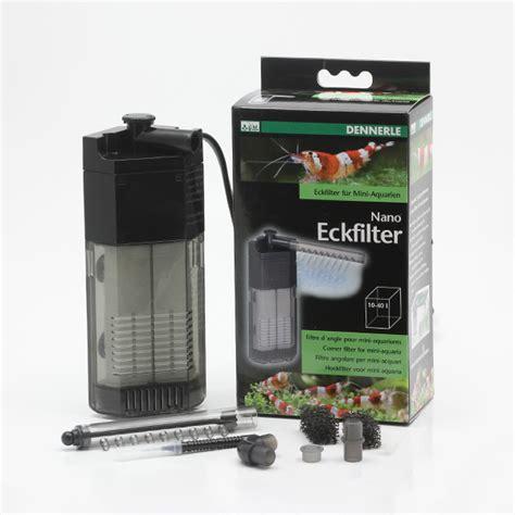 filtre pour nano aquarium nano corner filter dennerle
