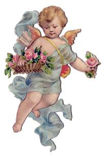 wedding postcards vintage 39 s day clip sweet cherub the