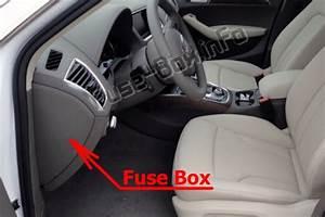 Fuse Box Diagram Audi Q5  8r  2009