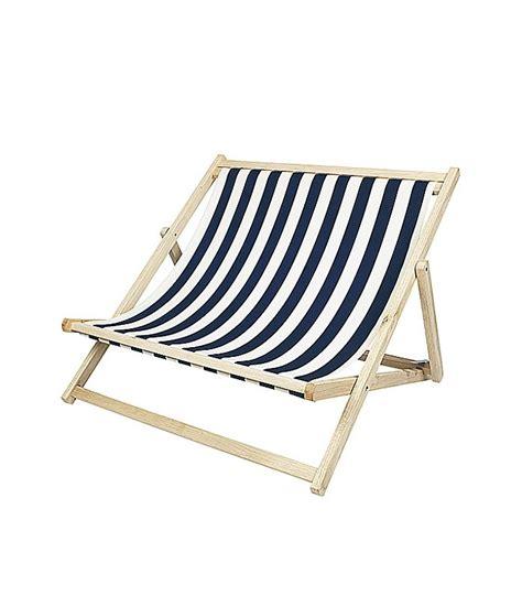 chaise longue pliante 233 e blanc et bleu broste copenhagen wadiga