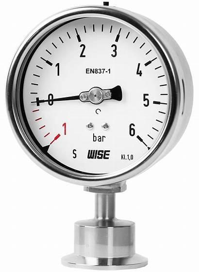 Gauge Pressure Wise Sanitary Marking Intended Inc