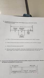 Solved  10  Consider Implemented In A Plc  The Hard