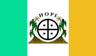 Hopi Indian Tribe Flag