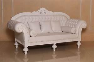 Barock Sofa Weiß : barock sofa 3 sitzer queenera rz wei sofas sofas sessel chaiselongue shop repro antik ~ Frokenaadalensverden.com Haus und Dekorationen