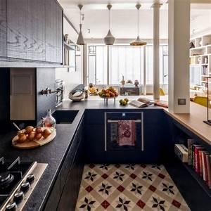 Aménagement Cuisine En U : cuisine en u id es d 39 am nagement c t maison ~ Premium-room.com Idées de Décoration