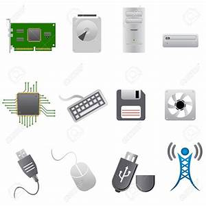 Computer peripherals clipart - Clipground
