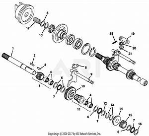 Gravely 47578 16hp  With Hydraulic Lift Parts Diagram For